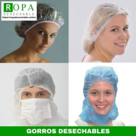 Gorros desechables